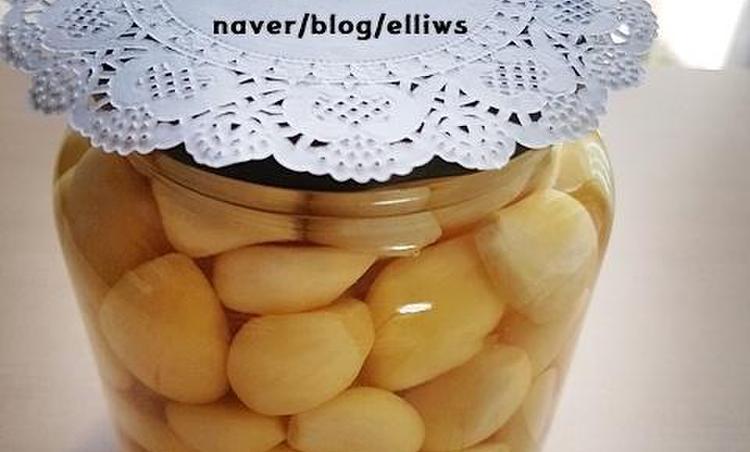 알토란 마늘장아찌...김하진샘의 아린맛 없는 마늘장아찌