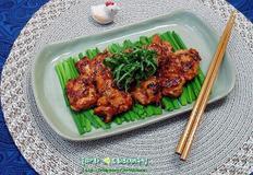 매운맛이 땡기는날 먹는 닭고기 반찬/매운 닭다리살 구이