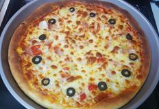 식빵 믹스로 피자 만들기!