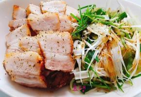 [에어프라이어요리] 돼지고기 통삼겹구이바베큐 30분이면 완성^^