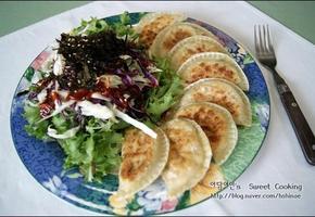 명절에 먹고남은 잡채 활용요리, 잡채비빔만두