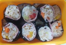 아이반찬 ,볶음밥 요리 ,볶음밥 김밥,훈제오리요리,꼬마김밥
