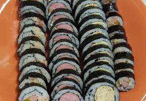 현장학습, 김밥 4종만들기