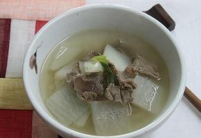 소고기무국 (탕국) 경상도식