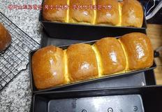 생이스트로만든 옥수수식빵: 뜯어먹기좋은식빵