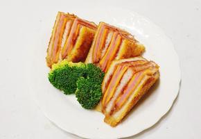 단짠 최고봉 몬테크리스토 샌드위치 만들기
