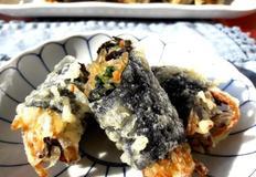 잡채 김말이 튀김 명절음식 활용하기