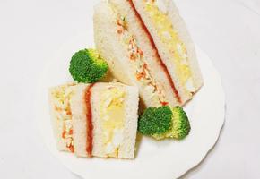 요즘 제일 핫한 인기가요 샌드위치 만들기