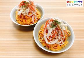 매콤한 로제파스타 만들기 홈파티음식으로 최고예요 :)
