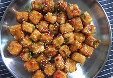 매콤달콤 두부요리 :: 두부 깐풍기 / 집에서 즐기는 중식요리