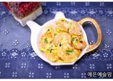 새우부추전만들기,아이반찬, 새우요리,대하요리,
