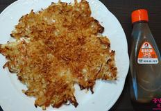 양배추 부침, 오꼬노미야끼와 비슷한 맛을 내는 양배추 전 레시피.