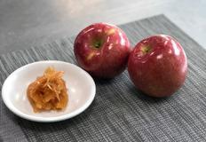 사과 껍질 조림