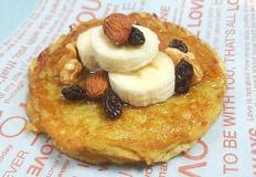 건강간식! 밀가루 없이 계란 하나로 만든 팬케이크