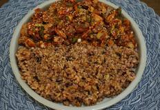 꼬막무침, 꼬막무침비빔밥 만들기