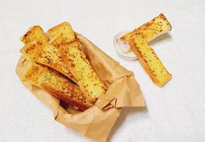 <노오븐> 초간단 마늘토스트(마늘빵)만들기