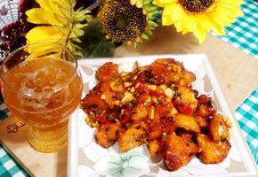 #이금기레몬치킨소스 #에어프라이어요리 #치킨텐더로 만드는 깐풍기만들기 #간편소스를 활용한 매콤새콤한 깐풍기!!