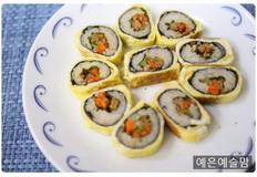 계란말이 김밥, 꼬마김밥 만들기, 아이 소풍 도시락 싸기, 김밥 주먹밥, 아이 반찬
