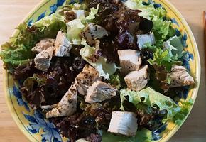 촉촉하게 닭가슴살 굽기 (샐러드용)