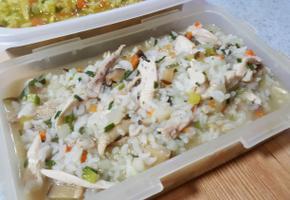 영양만점 야채 닭죽, 카레 닭죽, 삼계탕 레시피