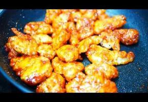바삭바삭 쫀득쫀득 찹쌀 닭강정