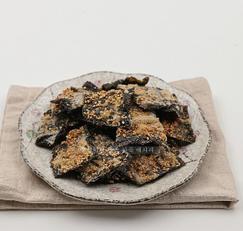 김부각 만들기 만물상레시피로 만든 바삭바삭 고소한 김요리
