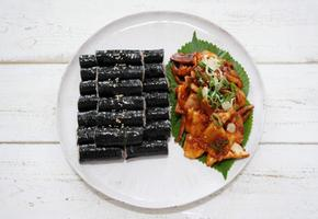 충무김밥 그리고 오징어무침 만드는 법