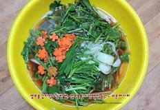 열무물김치만드는방법, 열무물김치 냉면만들기~쉬운레시피