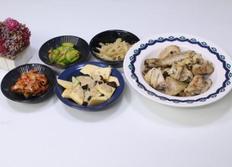 닭 오븐구이,애호박 볶음,명엽채 조림,아이반찬,유아 반찬,유아식 식단,4살식단.3살식단,오븐요리,닭요리,