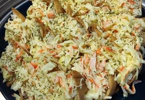 크래미 유부초밥 :: 도시락으로, 간단한 야식으로도 좋은 특별한 유부초밥!