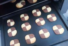 버터향 가득, 풍미가 좋은 모자이크 쿠키 / 체크쿠키 만들기