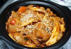 오징어와 돼지고기의 매콤한 만남 :: 오삼불고기