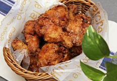 닭봉카레튀김