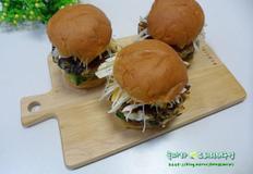 특별한 맛의 나만의 햄버거/김자반 미니버거