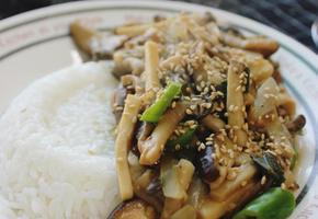 버섯덮밥 만들기. 간단한끼. 간단한 저녁메뉴 아침메뉴 점심메뉴