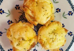 초간단 식빵 계란빵