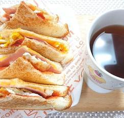 바쁜 아침 5분완성 계란후라이 토스트 레시피