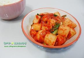 바로 먹는 깍두기 담기!/곰탕집 깍두기 특별한 비법