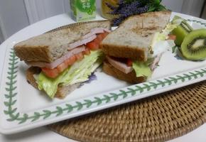 아침식사로 든든한 '비엘티 샌드위치'
