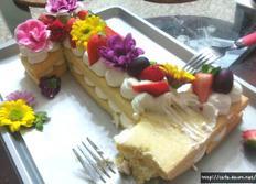특별한 케익을 원하세요? 아름다운 숫자케익