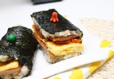 하와이안 무스비 만드는법:한끼로 좋은 네모김밥