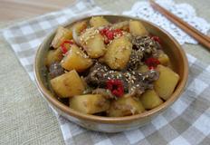 소불고기 간장 감자조림 만드는법 :: 불고기 활용 요리 맛있는 반찬