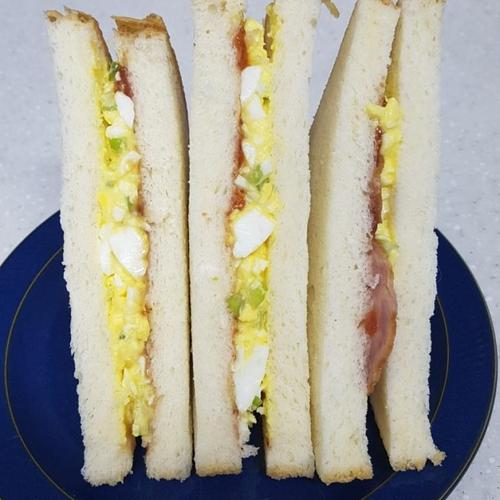 계란샌드위치만들기,아동요리,아이간식,식빵요리,계란요리