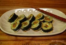 김밥 만들기 & 남은김밥으로 만드는 구운김밥