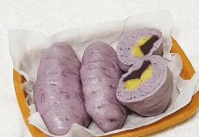 따끈한 겨울철 간식 고구마 호빵 만들기