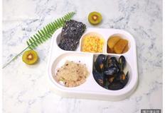 홍합탕 끓이기, 감자 들깨 조림, 당근 계란말이, 구운 김, 아이 반찬, 유아 반찬, 유아식 식단, 감자요리, 4살