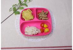 고구마튀김, 돼지고기장조림, 아이 반찬, 유아 반찬, 4살 식단, 3살 식단, 돼지고기앞다리 요리, 오븐요리, 고구