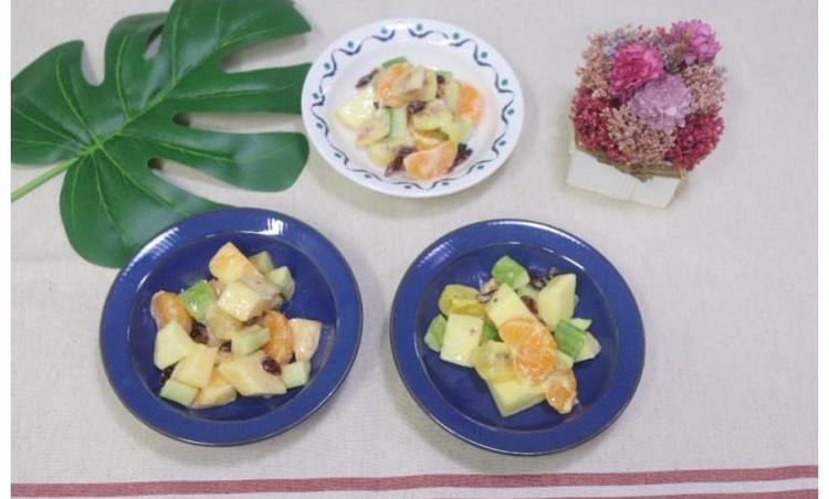 샐러드 만들기, 과일 샐러드 만드는 법(케첩, 마요네즈, 허니 머스터드)