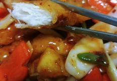 닭안심으로 만드는 매콤한 사천탕수육(탕수기)!