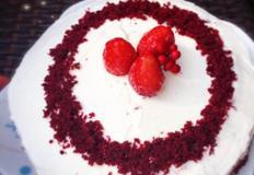 초보도 가능한 레드벨벳크림치즈 케이크